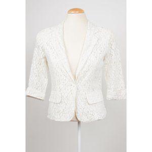 Sans Souci cream lace blazer
